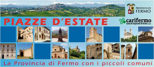 piazze d'estate Provincia Fermo